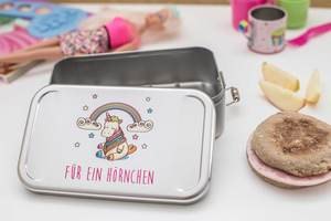 Lunchbox Einhorn XL, Brotdose, Brotbox, Vesperdose, Sandwichdose - CP Cameleon Pack Lunchbox