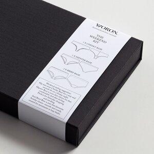 3er Pack Unterhosen 'The Weekend Kit' - schwarz - WORON.