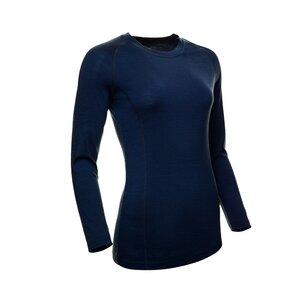 Merino T-Shirt Langarm Slimfit Raglan 200 Damen - Kaipara - Merino Sportswear
