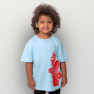 'Radlader 02' Kinder-T-Shirt  - shop handgedruckt