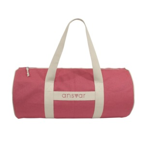 "sports bag ""ansvar III"" in altrosa - Fairtrade & GOTS zertifiziert  - MELAWEAR"
