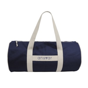 "sports bag ""ansvar III"" in blau - Fairtrade & GOTS zertifiziert - MELAWEAR"
