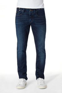 Jeans Straight Fit - Nick - Deep blue - Kuyichi