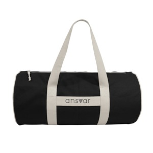 "sports bag""ansvar III"" in anthrazit - Fairtrade & GOTS zertifiziert  - MELAWEAR"