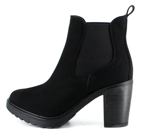 Emily Boot Black - Vegetarian Shoes