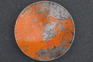 Leo Ölfass Schale, Orange - Africa Design