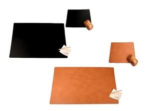 Schreibtischunterlagen Set aus nachhaltigem Leder - IMTC