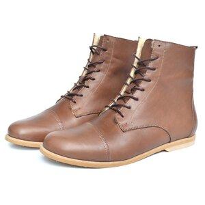 '89 Leder Boots in Braun - SORBAS
