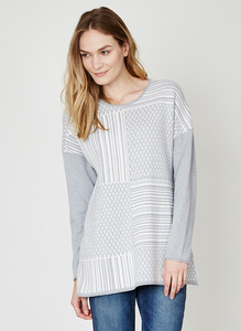 Irena Organic Cotton Wool Tunic - Thought | Braintree