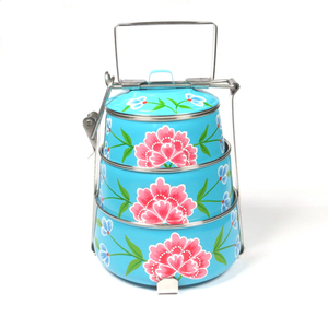 Franjipani Lunchbox / Tiffin  - Just Be