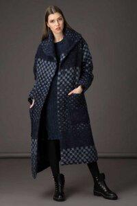 Oversized Wolle Mantel mit Taschen - Grizas