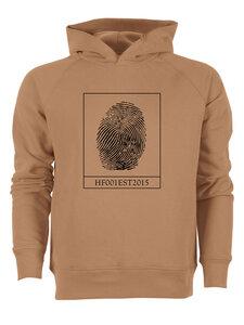 Hoodie Man - Unbent - Fingerprint  - Human Family