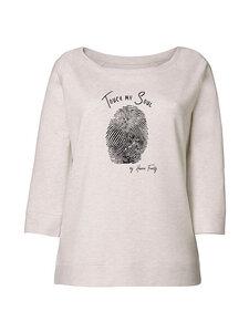 "meliertes Damen Sweatshirt - Tencel ""Soul""  - Human Family"