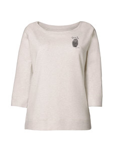 "Damen Sweatshirt - Tencel ""Lil. Touch my Soul""  - Human Family"