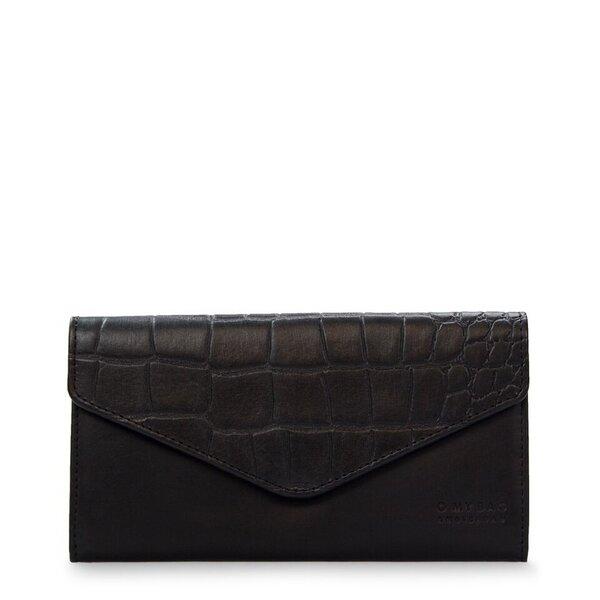 Envelope Pixie - Eco Classic Black / Croco O My Bag yqlwSi12K9