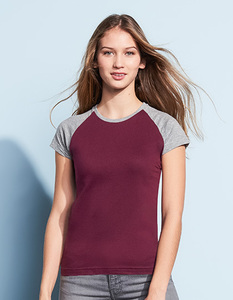 Women´s Raglan Colour-T Charleen - University of Soul