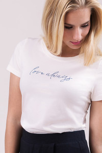 T-Shirt Love Always - l'amour est bleu