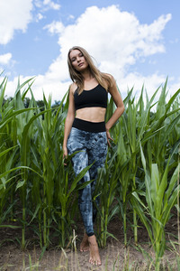 Bio-Baumwolle Leggings  - Flying Love Birds