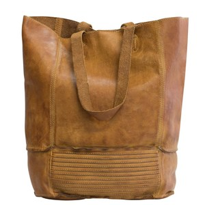 XL SHOPPER LORE leder cognac - manbefair