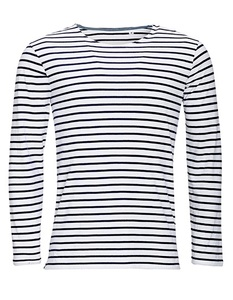 Men´s Long Sleeve Striped T-Shirt John - University of Soul
