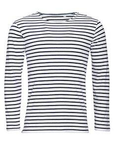 Men´s Long Sleeve Striped T-Shirt John - University of Soul