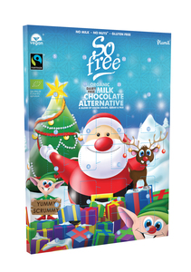 BIO Veganer Adventskalender Fairtrade 110g - Plamil Foods