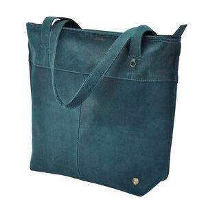 Estilo Shopper  Rindsleder  dunkelblau - MoreThanHip