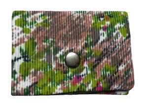 Mini Portemonnaie Unterholz, Upcycling von Leesha - Leesha