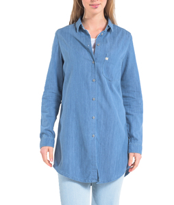 Kim Long Denim Shirt - Mud Jeans