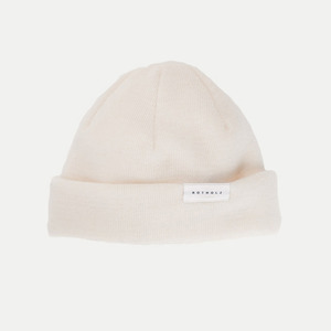 J.R. / Cotton Beanie - Rotholz