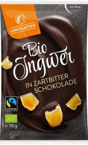 Vegane Bio Ingwer in Zartbitterschokolade - Landgarten
