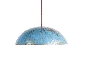 Ölfass Deckenlampe Hell Blau - Africa Design