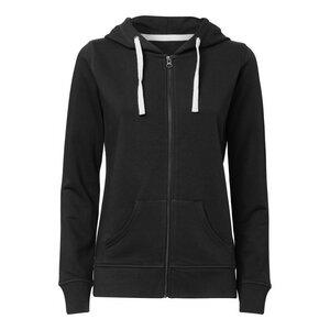 ThokkThokk Damen Kapuzensweater Black - ThokkThokk ST