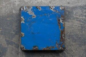 Ölfässer Untersetzer hellblau - Africa Design