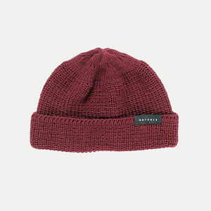 J. Series / Cropped Beanie (fair) - Rotholz