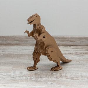 Dinosaurier aus Pappe als Bausatz - Papp à la papp