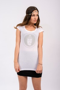 Buddha T-Shirt - weiß - Flying Love Birds