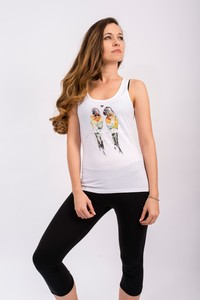 Damen Tank Top - LoveBirds  - Flying Love Birds