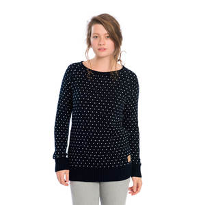 Summit Pullover Damen Dunkelblau - bleed