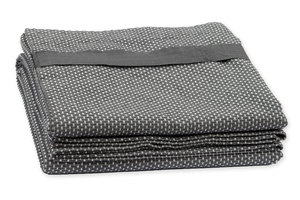 Wellness Towel - Dark Grey - The Organic Company