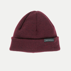 J. Series / Merino Beanie Short - Rotholz