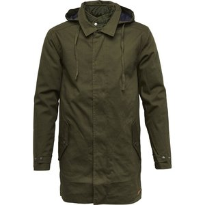 Double Layer Parka Coat - Forrest Night - KnowledgeCotton Apparel