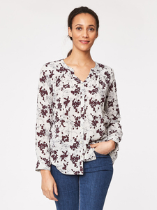 Chevley Organic Cotton Blouse - Thought