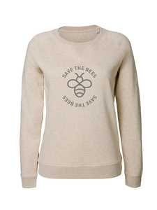 Damen Sweatshirt aus Bio-Baumwolle 'Save the bees' - Stanley & Stella