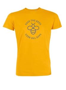Herren T-Shirt aus Bio-Baumwolle 'Save the bees' - Stanley & Stella