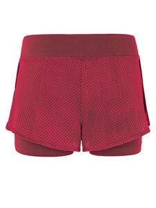 Yoga Shorts - Rumba Red - Mandala