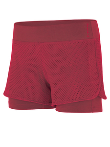 Yogahose - Yoga Shorts - Rumba Red - Mandala