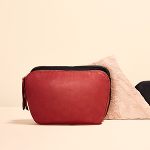 edle Sandwich Clutch #lehel - black pepper - NINE TO FIVE