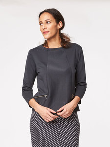 Riley Organic Cotton Top - Thought | Braintree