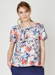 Clemence Floral Top - Thought